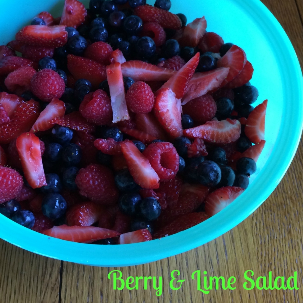 Berry & Lime Salad